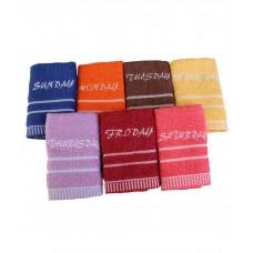 Deals, Discounts & Offers on Accessories - Towel Town 7 Wonders Multi-Coloured Face Towels