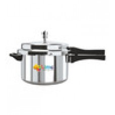 Deals, Discounts & Offers on Home & Kitchen - Lime Aluminium 5 L Pressure Cooker