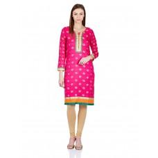 Deals, Discounts & Offers on Women Clothing - Women's Anarkali Kurta at 60% + 30% off