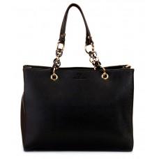 Deals, Discounts & Offers on Accessories - Flat 58% offer on Diana Korr Black P.U. Satchel Bag