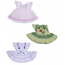 Deals, Discounts & Offers on Women Clothing - Fashion Baby Girl Frock Pack of 3