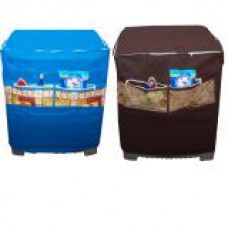 Deals, Discounts & Offers on Accessories - Washing Machine Cover With Front Pocket at Flat 80% Off