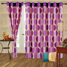 Deals, Discounts & Offers on Home Appliances - Flat 69% off on cortina Beautiful Dots Door Curtain using Coupon