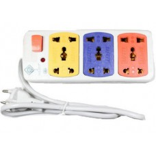 Deals, Discounts & Offers on Electronics - Flat 100% Offer on 3 Sockets Power Strip Extension Cord Board