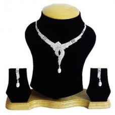 Deals, Discounts & Offers on Women - Flat 25% offer on The Pari's Designer Rhinestones Studded Necklace