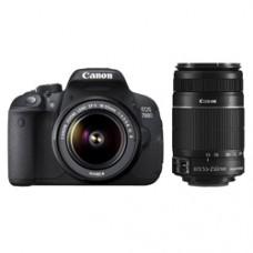 Deals, Discounts & Offers on Cameras - Canon DSLR 700D Dual Kit 18-55/55-250