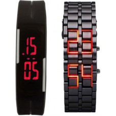 Deals, Discounts & Offers on Men - Oxhox Combodeal12 Digital Watch - For Couple