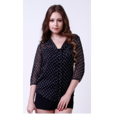 Deals, Discounts & Offers on Women Clothing - Flat 50% offer on 3/4 Sleeve Printed Women's Top