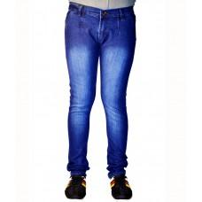 Deals, Discounts & Offers on Men Clothing - Flat 65% offer on Fashion Wear Streachable Blue Men Denim Jeans