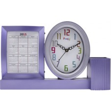 Deals, Discounts & Offers on Home Decor & Festive Needs - Flat 70% offer on ADS Analog Purple Clock
