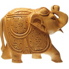 """Deals, Discounts & Offers on Home Decor & Festive Needs - Prachin Elephant Carving Fat 6"""" Showpiece at Flat 33% off"""