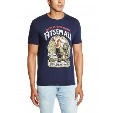 Deals, Discounts & Offers on Men Clothing - Flat 60% offer on Levi's Men's Cotton T-Shirt