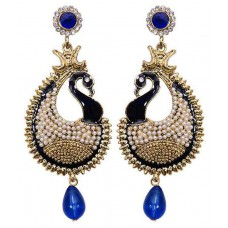 Deals, Discounts & Offers on Earings and Necklace - Grand Jewels Multicolor Alloy Drop Earrings