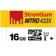 Deals, Discounts & Offers on Mobile Accessories - Get Strontium Nitro 16GB Class 10 UHS1 MicroSDHC Card