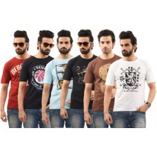 Deals, Discounts & Offers on Men Clothing - Flat 61% offer on Mens T-shirts
