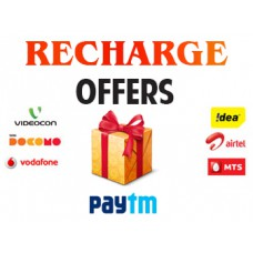 Deals, Discounts & Offers on Recharge - Rs. 40 Cashback on Rs. 400