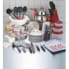 Deals, Discounts & Offers on Home & Kitchen - Flat 33% offer on Importwala Red Kitchen Starter Set