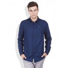 Deals, Discounts & Offers on Men Clothing - Izod Navy Slim Shirt offer