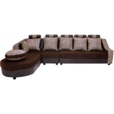 Deals, Discounts & Offers on Furniture - Woodpecker Solid Wood 7 Seater Sectional