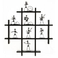 Deals, Discounts & Offers on Home Decor & Festive Needs - Flat 26% offer on Multiple Block Wall Shelf