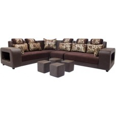 Deals, Discounts & Offers on Home Appliances - Woodpecker 6 Seater Sectional