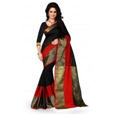 Deals, Discounts & Offers on Women Clothing - Shree Sanskruti Women's Poly Cotton Saree