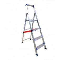 Deals, Discounts & Offers on Accessories - Alu Shakti Aluminium Light Weight 3 Step With 1 Platform Ladder