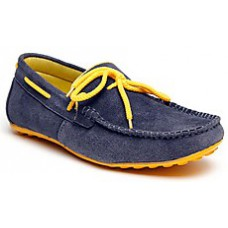 Deals, Discounts & Offers on Men -  Bacca Bucci Blue And Yellow Men Casual Shoes at Rs.629 only.