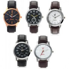 Deals, Discounts & Offers on Men - Flat 70% offer on Rico Sordi Mens Leather watch