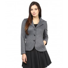 Deals, Discounts & Offers on Women Clothing - Flat 55% offer on The Vanca Gray Woollen Blazers