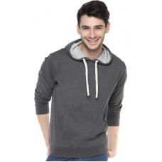 Deals, Discounts & Offers on Men Clothing - Campus Sutra Full Sleeve Solid Men's Sweatshirt
