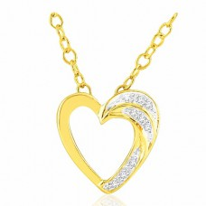 Deals, Discounts & Offers on Earings and Necklace - Sparkles Beautiful & Stylish 925 Sterling Silver & Real Diamond Pendant