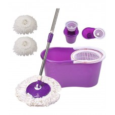 Deals, Discounts & Offers on Home Appliances - Welcome Group Easy Mop Multicolor Spin Mop Deluxe Cleaning System With 2 Mop Heads