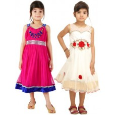 Deals, Discounts & Offers on Baby & Kids - Flat 62% offer on Tiny Toon Girl's A-line Dress