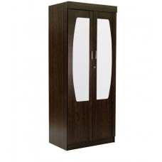 Deals, Discounts & Offers on Home Appliances - Flat 35% off on Hoshu Two Door Wardrobe with Mirror