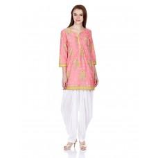 Deals, Discounts & Offers on Women Clothing - Flat 40% off on Biba Women's A-Line Kurta
