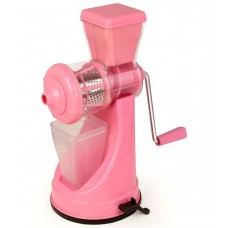 Deals, Discounts & Offers on Home Appliances - class fruit and vegetable pink juicer steel handle