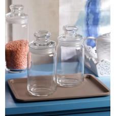 Deals, Discounts & Offers on Home Appliances - Flat 35% OFF on Ocean Pop Medium Storage Jar - Set of 6.