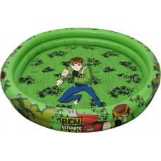 Deals, Discounts & Offers on Baby & Kids - Simba Ben10 2-Ring Pool, Multi Color at Flat 60% Off