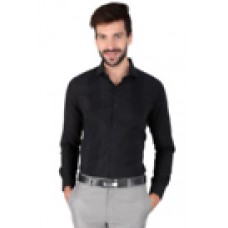 Deals, Discounts & Offers on Men Clothing - Pantaloons Black Shirt offer