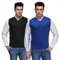 Deals, Discounts & Offers on Men Clothing - TSX Cut Sleeves Sweater Pack of 2