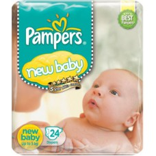 Deals, Discounts & Offers on Baby & Kids - Pampers New baby Diapers Taped Newborn Size