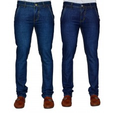Deals, Discounts & Offers on Men Clothing - Denim Cafe Men's Jeans Combo Of 2 With Free 1 Pair Of Assorted Socks