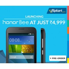 Deals, Discounts & Offers on Electronics - Launching Honor Bee Mobile phone at Rs 4,999/-