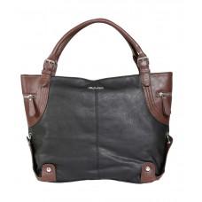 Deals, Discounts & Offers on Women - Kiara Black Synthetic Shoulder Bag