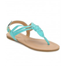 Deals, Discounts & Offers on Foot Wear - Lavie Green Sandals