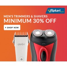Deals, Discounts & Offers on Trimmers - Men's Shavers & Trimmers Minimum 30% Off