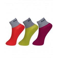 Deals, Discounts & Offers on Foot Wear - Reebok Women's Half Cushion Ankle Socks - Pack of 3