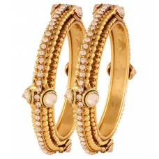 Deals, Discounts & Offers on Earings and Necklace - Rich Lady Multicolour Brass Bangle