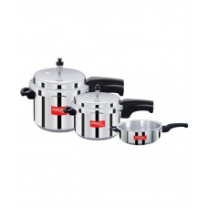 Deals, Discounts & Offers on Home & Kitchen - Surya Accent - ISI - Aluminium Pressure Cooker